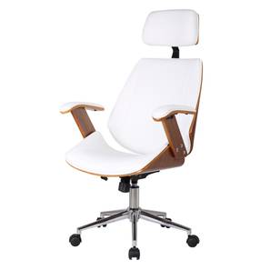 revolving chair for study zero gravity canada online check chairs designs price buy urban ray executive walnut finish white