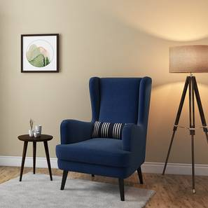 rocking chair with footstool india cheap covers birmingham lounge chairs buy designer online in urban ladder genoa wing cobalt by