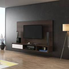 Tv Cabinet For Living Room Black Furniture Set Wall Mounted Units Check 7 Amazing Designs Buy Online Urban Iwaki Swivel 59 Unit Dark Walnut Finish By Ladder