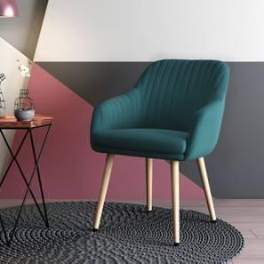 revolving easy chair teak chaise lounge chairs sale buy designer online in india urban ladder rochelle dark aqua by