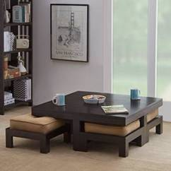 Small Living Room Table And Chairs Best Rooms Images Coffee Center Design Check Centre Designs Online Kivaha 4 Seater Set