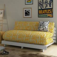 Square Sofa Beds Outlets Liverpool Futon Bed Buy Single Double Wooden Mattress Finn Cum Without Cushion Kolam Surface By Urban Ladder