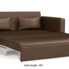 Brown Fabric Sofa Divano Usage Sets Buy Sofas Online Find Various Designs Camden Cum Bed Mocha 3 Seater Custom Set