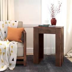 Living Room Side Table Sofas Ideas End Shop Furniture Online Epsilon Teak Finish By Urban Ladder