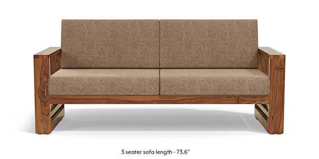 wooden sofa designs for living room upholstery set buy sets online urban ladder parsons teak finish safari brown 1
