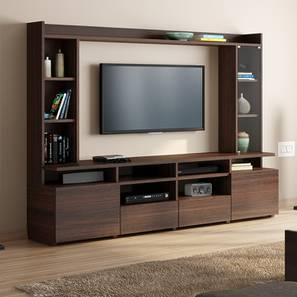 sleek tv unit design for living room accessories 2018 stand cabinet designs buy units stands cabinets celestin xl 74 dark walnut finish by urban ladder