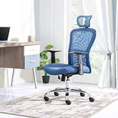 Revolving Chair For Study And Steel Office Chairs Online Check Price Of Ergonomic Executive Venturi 3 Axis Adjustable Aqua By Urban Ladder