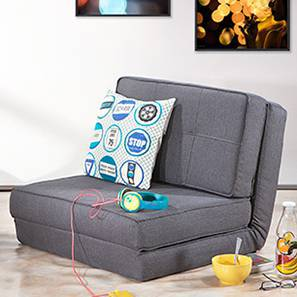 double sofa beds for sale leather covers walmart futon bed buy single wooden mattress desso cum grey one seater configuration by urban ladder