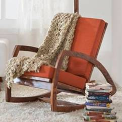 What Is A Rocking Chair Bean Bag With Built In Blanket And Pillow Online Check Price Of Wooden Chairs Urban Dylan Teak Finish Amber By Ladder