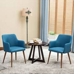 Chair In Living Room Small Bar For Lounge Chairs Buy Designer Online India Urban Ladder Murray Set Of 2 Teal By