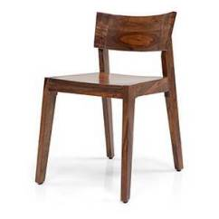 Wooden Chairs With Arms India Chicago Stool Chair Inc Dining Buy Online In Latest Gordon Teak Finish By Urban Ladder