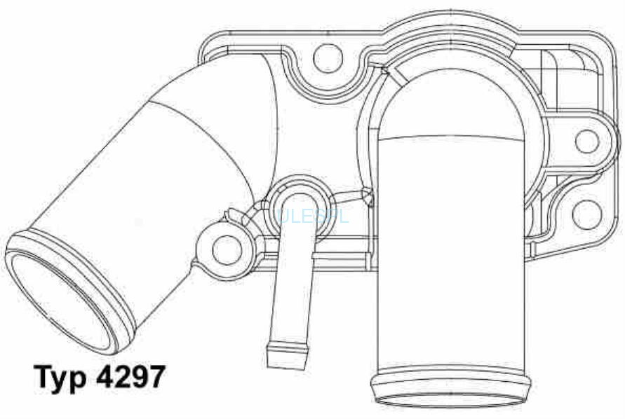 TERMOSTAT ORYGINALNY WAHLER 4297.92D VAUXHALL OPEL SIGNUM