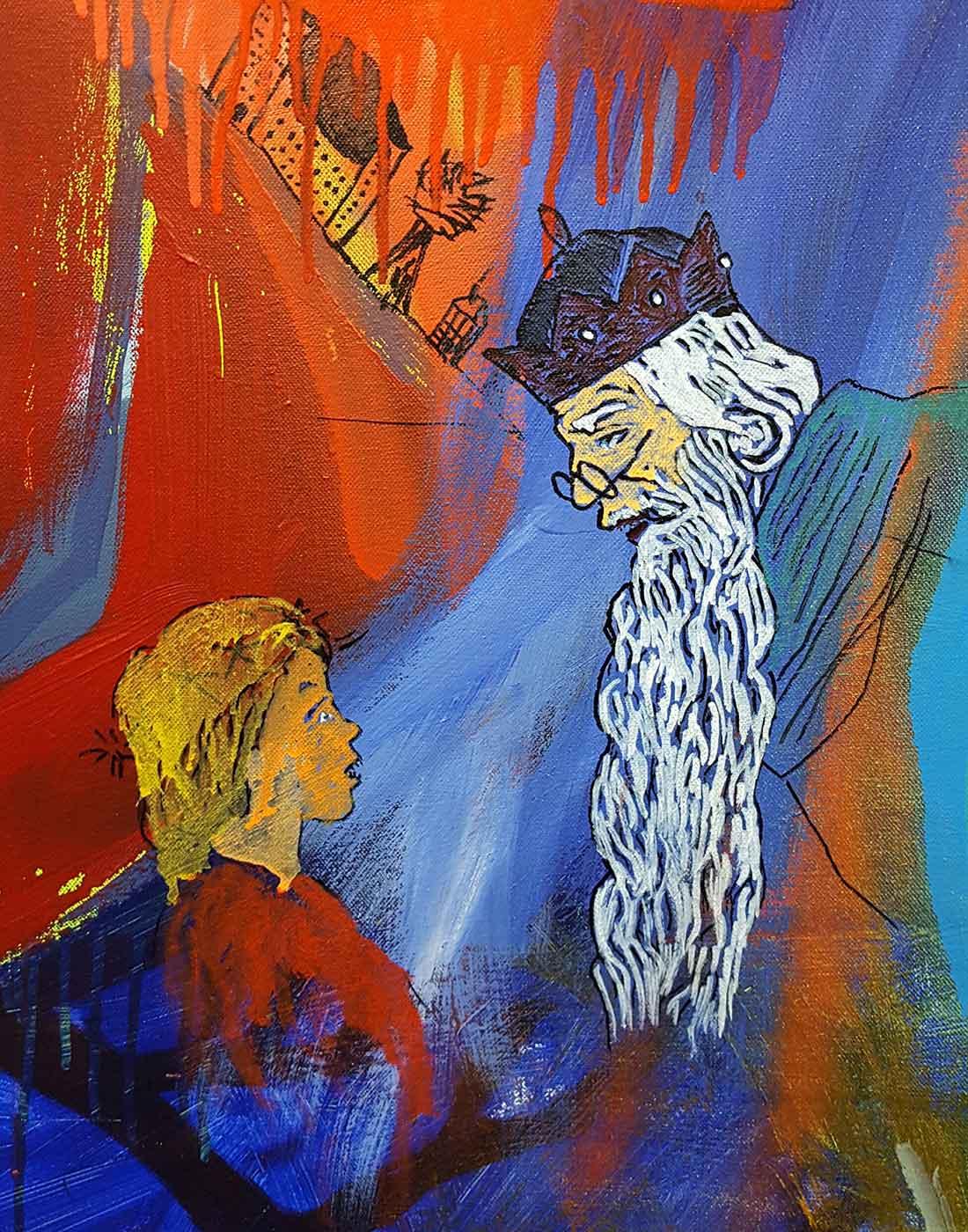Úlfur Karlsson Artist -Proxy War (detail)