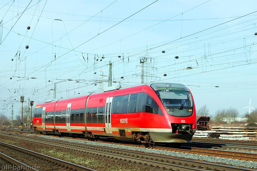 Baureihe 643 / 644 der DB AG