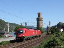 ÖBB Tauri am Rhein