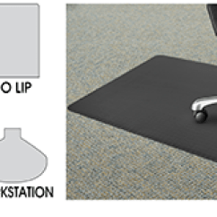 Carpet Chair Mats Wisconsin Company For Office In Stock Uline Mat Shapes
