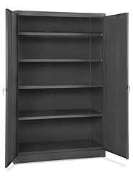 Jumbo Heavy Duty Metal Storage Cabinet - Assembled, 48 x ...
