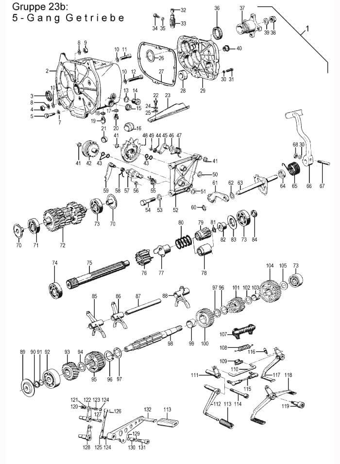 Ersatzteile: R75/6-R100