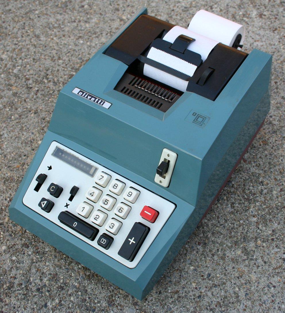 calcolatrici meccaniche