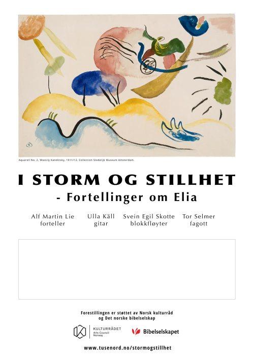 Poster I storm og stillhet