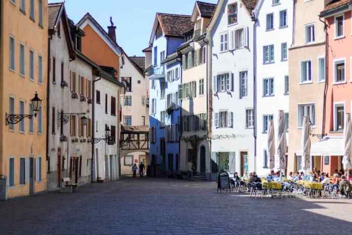 Der Arcas ist einer der schönsten Plätze in Chur. (Foto Andrea Ullius)