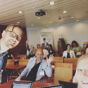 Olen kiitollinen työstäni Master Suomella. Meidän asiakkaiden ja yhteistyökumppaneiden kanssa on mukava tehdä töitä.