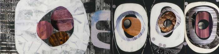 Collage No258 by Suzanne Currie