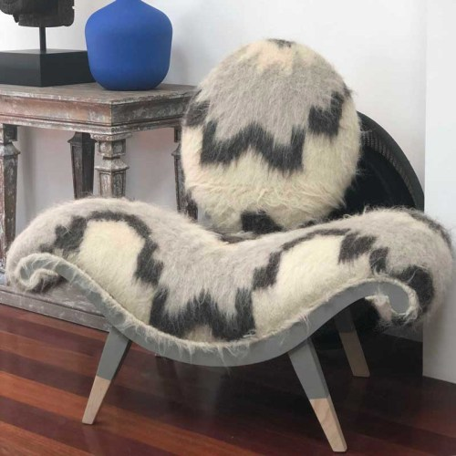 Viking chair by Ulloo42. One of a kind piece.
