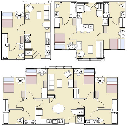 Bayou Village Apartments  ULM University of Louisiana at