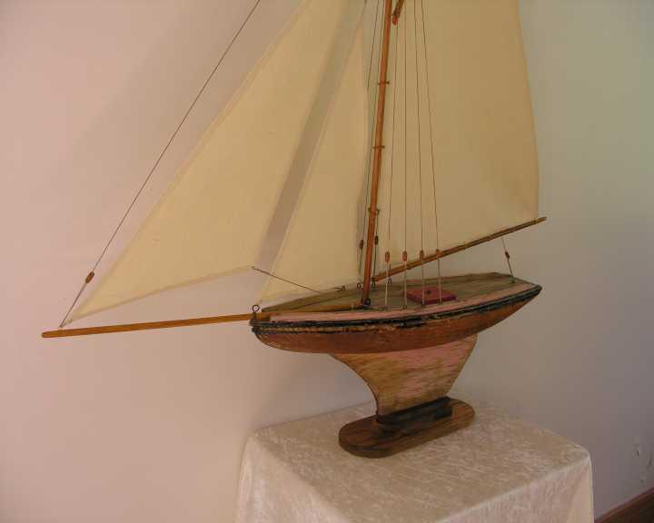 Ulmo  Restauration voilier  bateau jouet  Nova  MFP  Michel Fradet