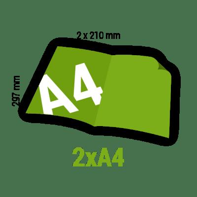 Ulotka 2xA4