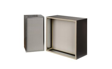 High Capacity HEPA Filter with Single Pleat