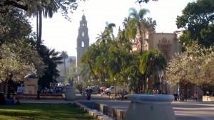 Balboa Park mit El Prado und Turm (c) Ulrich Pfaffenberger