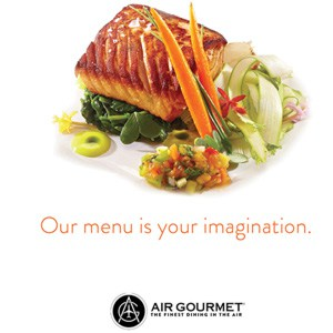 Ulrich MaHarry relaunched the Air Gourmet brand with new logo, web site, advertising, collateral and vehicle fleet