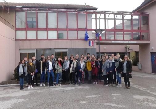 Schüleraustausch mit la Côte Saint André (24.01. – 31.01.2018)