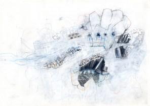 O.T. 11 | 2016 | Mischtechnik auf Papier | 21 x 29,7 cm