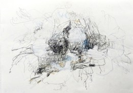 O.T. 05 | 2013 | Mischtechnik auf Papier | 42 x 59,4 cm