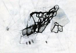 O.T. 01 | 2017 | Mischtechnik auf Papier | 42 x 59,4 cm