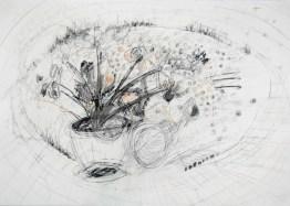 Serie 'Hör zu' 08 | 2013 | Mischtechnik auf Papier | 42 x 59,4 cm