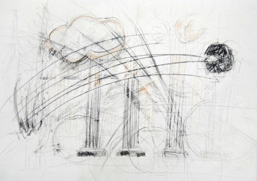 Serie 'Hör zu' 10 | 2013 | Mischtechnik auf Papier | 42 x 59,4 cm