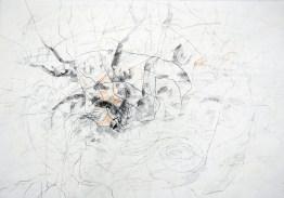 Serie 'Hör zu' 09 | 2013 | Mischtechnik auf Papier | 42 x 59,4 cm