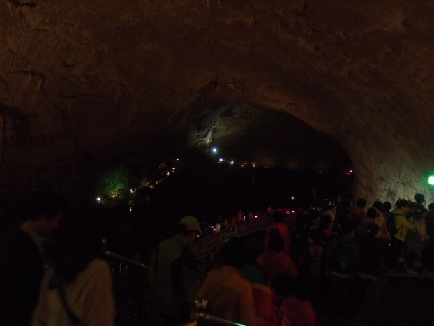 The photos don't do justice to the vast scope of the caves