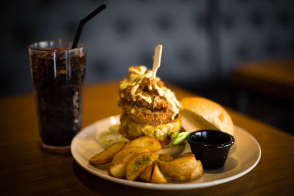 Crispy Onion Burger