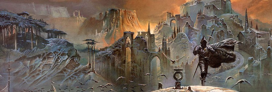 Detail from Bruce Pennington: The Shadow of the Torturer, (c) Bruce Pennington www.brucepennington.co.uk