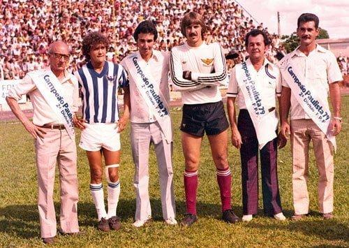 Geraldo da Cruz, Carlos Silva, Zé Vera, Durval, Mané Bilheteiro e Miguel Branco