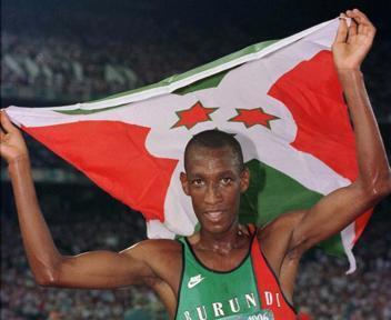 Burundi conquistou o ouro logo na primeira participação olímpica, em Atlanta-1996