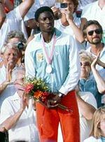 Tiacoh foi prata em Los Angeles-1984, 6 anos antes de morrer de meningite