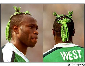 Taribo West, símbolo da Nigéria na Copa do Mundo de 1998
