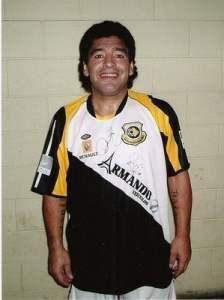 Menos o Maradona, que é secador