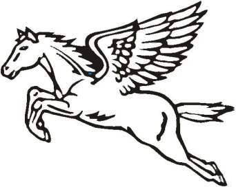 CENE-MS - PégasusO time escolheu uma imagem da mitologia grega que tem significados profundos: o pégasus é o símbolo da imortalidade e considerado o Rei do Céu